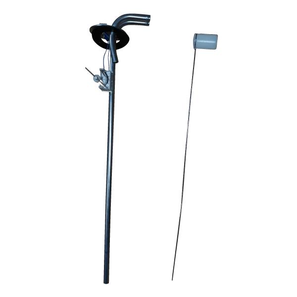 Aforadores para depositos de profundidad entre 200 y 1000 mm