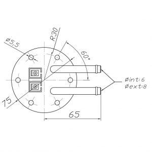 interruptor de nivel con boya para grupos electrogenos
