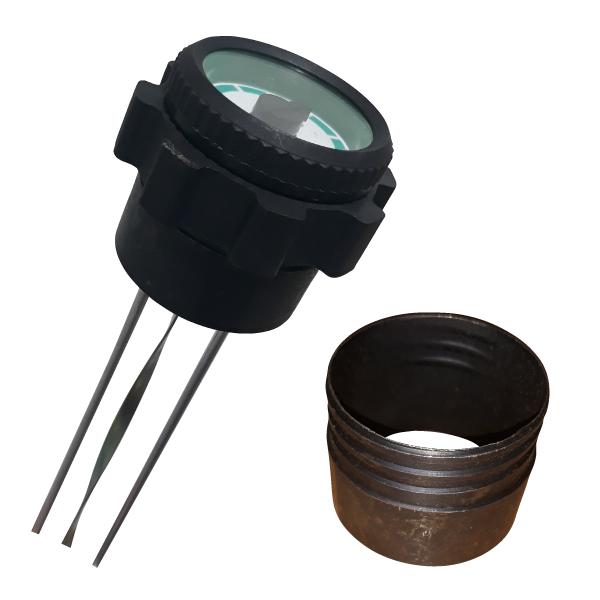 sensor de nivel que controla la cantidad de los depositos de combustible