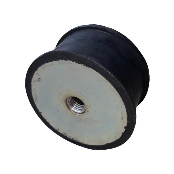 hasta cargas estaticas de 1000 kg puede soportar este silenciador de motores de caucho y metal
