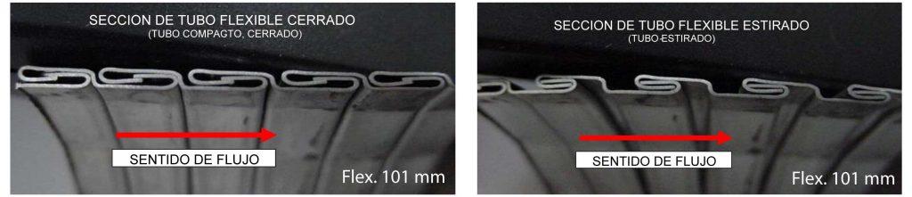 tubos metalicos flexibles para motores