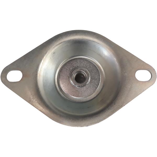 soporte de metal que silencia ruidos y es de gran calidad