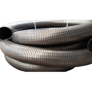 Tubo flexible inox 80mm