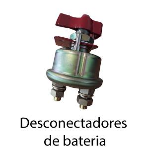 Este desconectador de bateria permite interrumpir la corriente