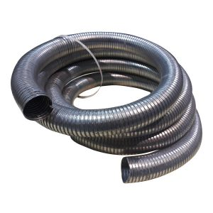 tubo flexible de escape para generadores de grupos electrogenos