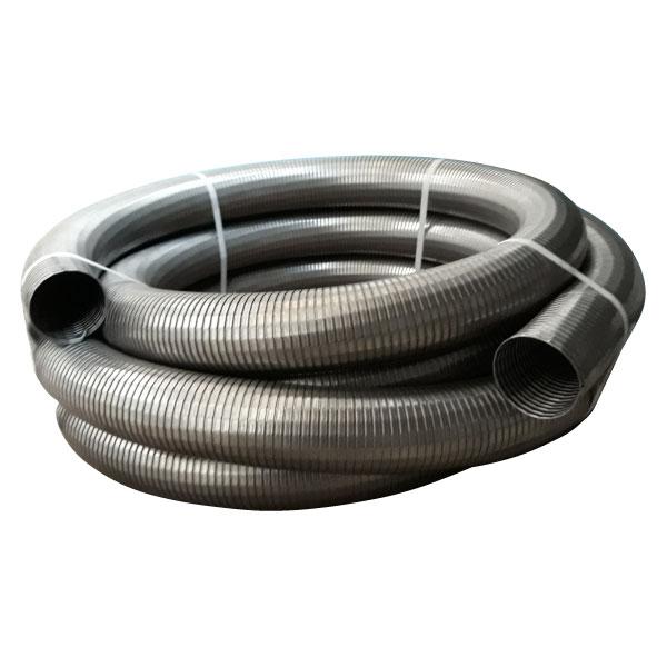tubo flexible galvanizado para gases de escape