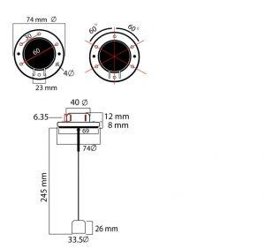 sensor de nivel para motores