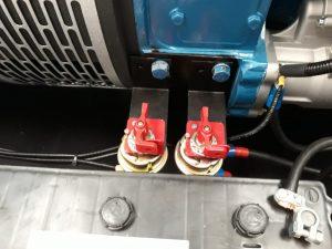 como instalar un desconectador de bateria en tus grupos electrogenos