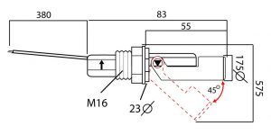 sensor de nivel de combustible de depositos
